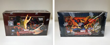 Marvel Masterpieces Series 2 & 3 - Lot of 2 Sealed Trading Card Hobby Boxes