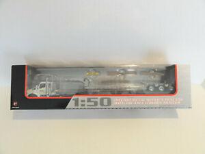 "FIRST GEAR 50-3289 KENWORTH T880 w/TALBERT LOWBOY ""NEW HOLLAND"" 1:50 ""NEW"""