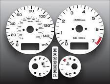2004-2006 Subaru Baja Turbo Dash Instrument Cluster White Face Gauges