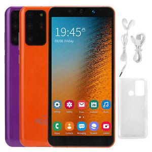 "2021 New 5.72"" Unlocked Smartphone Android8.0 4GB Dual Sim 3G WiFi Orange Purple"
