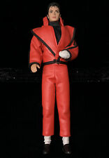 1984 LJN Michael Jackson Superstar Of 80's Thriller Figure Doll W/ Shoes & Glove