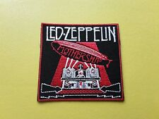 POP, ROCK, PUNK, METAL MUSIC SEW ON & IRON ON PATCH:- LED ZEPPELIN