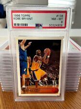 1996-1997 Topps Kobe Bryant #138 PSA 8 RC Rookie