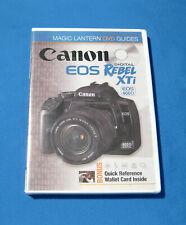 Canon Eos Rebel Xti Magic Lantern Dvd Guides Sealed New