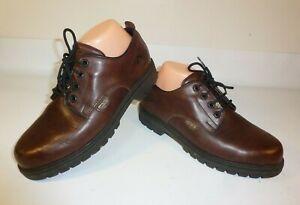 Havana Joe Shoes Men's Brown Leather Oxford Lace-up Gore-Tex - EU 41 (US 8)