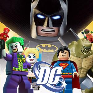 DC Minifiguren - Batman Joker Superman Flash Arrow Bane Dark Knight Gotham