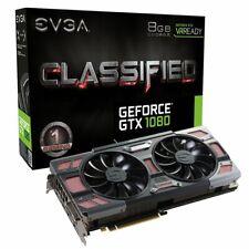 EVGA GeForce GTX 1080 CLASSIFIED GAMING ACX 3.0, 8GB GDDRX, (08G-P4-6386-KR)