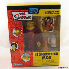 Simpsons exclusive Stonecutter Moe 2003 intelli-tronic mail-away action figure