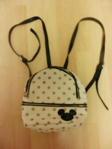Typo Mickey Mouse Cream and Gold Spot Small Rucksack