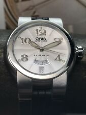 Oris Big Crown TT1 Day Date Swiss Automatic 37mm Silver Dial 635-7522-41-61