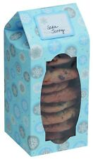 Cookie Boxes Snowflake Design - pack of 6