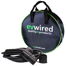EV Electric Vehicle Charging Cable 32amp 5m Car Charger Type 2 440v EO Carry Bag