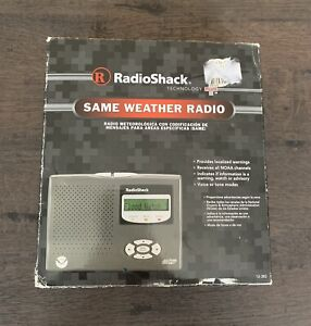 RadioShack Weather Radio Radio Shack Model 12-382 w/ Power Adapter