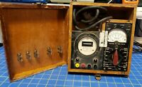 1950s Sperry Gyroscope Power Supply Checker Triplett JBT Canadian Military