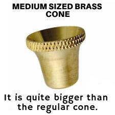 Medium Bonza Bucket Brass Cone Piece