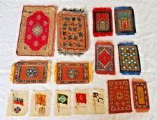 Vintage Silk Tobacco / Doll House Rugs / Cigarette Silks- Lot Of 15