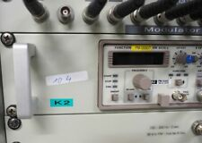 "HAMEG Function Generator HM 8030-5 Dual Mainframe HM8001 19"" Einschub #104"
