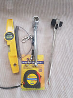 Scaffold Tool Set 5 Pcs Quality Kit 4 Professional work Scaffolders Tools Belt