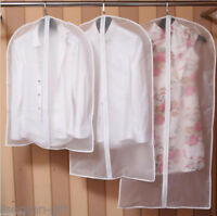 Clear Clothes Garment Suit Dress Dustproof Protector Storage Organizer Cover Bag