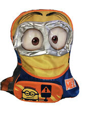 """Despicable Me 2 3D Goggle Mini Minions Dave Kids School 16"""" Backpack Bag Tote"""