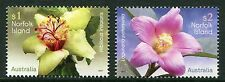 NORFOLK ISLAND FLOWERS 2017 - MNH SET OF TWO (BR43)