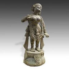 Standing Figure Radha Carved Wood Orissa Bengal India Krishna Hinduism 19Th C.