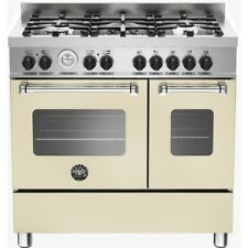 Bertazzoni Master Series MAS90-5-MFE-D-CRE 90cm Dual Fuel Range Cooker