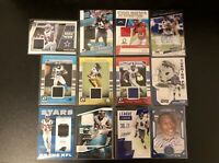 Lot of 12 Autograph/Relic Rookie Card, League Leaders, Pro Bowl *Lamar Jackson*