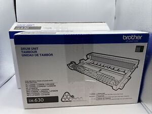 NEW Brother DR630 Genuine Drum Unit Mono Laser Black Yields Up To 12,000 Pages