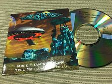 BOSTON SPANISH CD SINGLE SPAIN PROMO MORE THAN A FEELING + TELL ME CARD SLEEVE