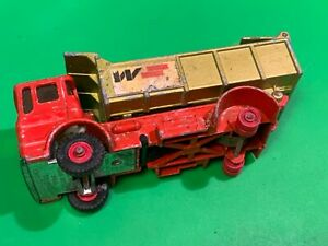 Lesney matchbox series king size No K-4 leyland tipper 1969,classic truck toy