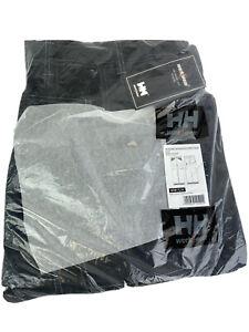 HELLY HANSEN Chelsea Service Pants Work Wear 76485 Black/Charcoal 38/34 NWT