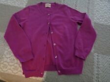 CREWCUTS   CASEY CARDIGAN CRYSTAL BUTTONS    WORN ONCE   6-7