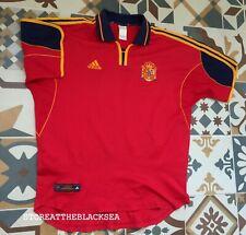 SPAIN NATIONAL TEAM 1999 2001 HOME FOOTBALL SOCCER SHIRT JERSEY CAMISETA MEN XL