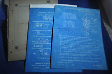 1910-1920s GE Transformer Research Papers & Dynamometer Blueprint by Otto Werres