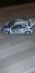 206 WRC SOLIDO 1/18 SANS BOITE G ET H PANIZZI