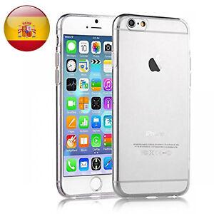 FUNDA 100% GEL SILICONA TRANSPARENTE PARA Apple Iphone 4 5 5s 6 6s 7 8 Plus X