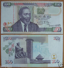 KENYA 100 Shillings Paper Money 2009 UNC