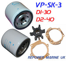 Service Kit for Volvo Penta D1-30, D2-40, MD2030, replaces #: 21189422,