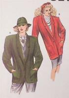 Kwik Sew Unlined Jacket Sewing Pattern Multi Size 14 16 18 20 New Old Stock
