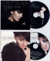 TATIANA Spider Web 2011 UK 11-trk promo CD + bonus remixes CD