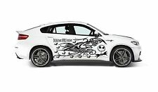NIGHTMARE BEFORE CHRISTMAS JACK SKELLINGTON GRAPHIC VINYL TRIBAL DECAL FOR CAR