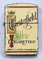Vintage 1960's Chesterfield Cigarettes advertising lighter by Continental Japan