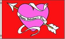 Valentines Day Heart 3x5 Polyester Flag