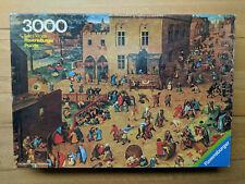 """3000er Ravensburger Puzzle """"Kinderspiele"""" (1978)"""