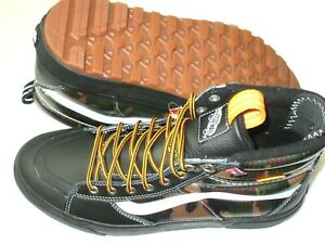 Vans Men's Sk8-Hi Mte 2.0 Dx All Weather Skate Winter Boots Black Camo Size 9.5