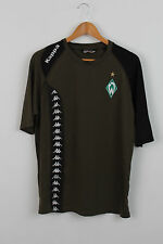 Vintage KAPPA WERDER BREMEN FOOTBALL SHIRT JERSEY TRIKOT Coupe Slim 2007/2008 XL