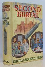 Crime/ Detective Second Bureau Charles Robert Dumas First 1939 Eldon  Wrapper