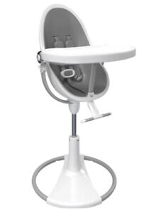 Limited Edition Bloom fresco Gray Children Kids high chair W/ Back - Clean Used
