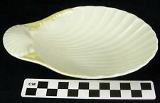 Vintage Belleek Cob Lustre Butter Pat Dish or Shell Pin Trinket Dish Plate (HH)